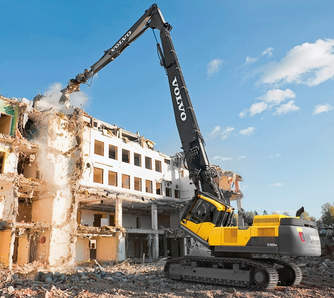 building demolition techniques