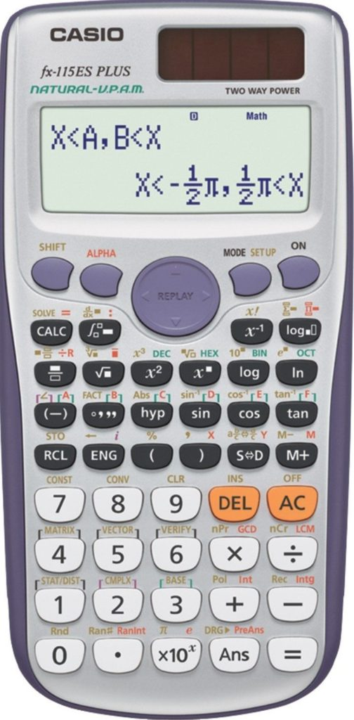 casio calculator scientific