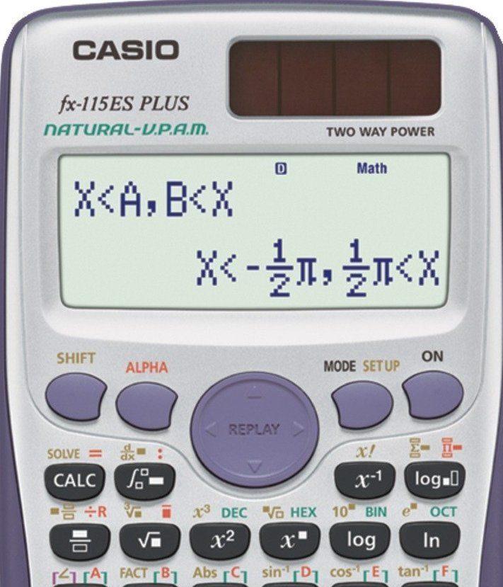 Casio fx 115 Es plus Calculator Manual