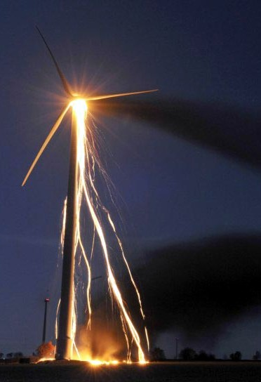 Windturbine failure
