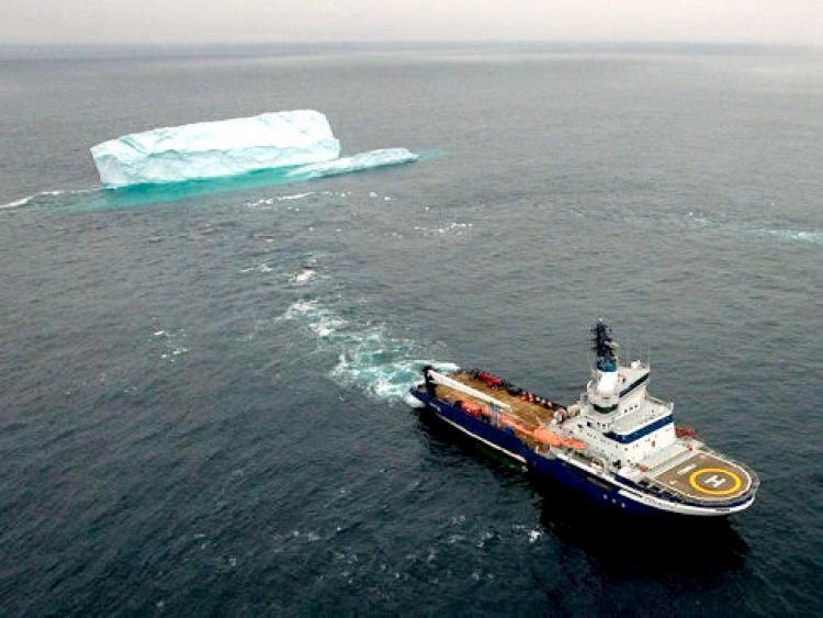 Towing an iceburg