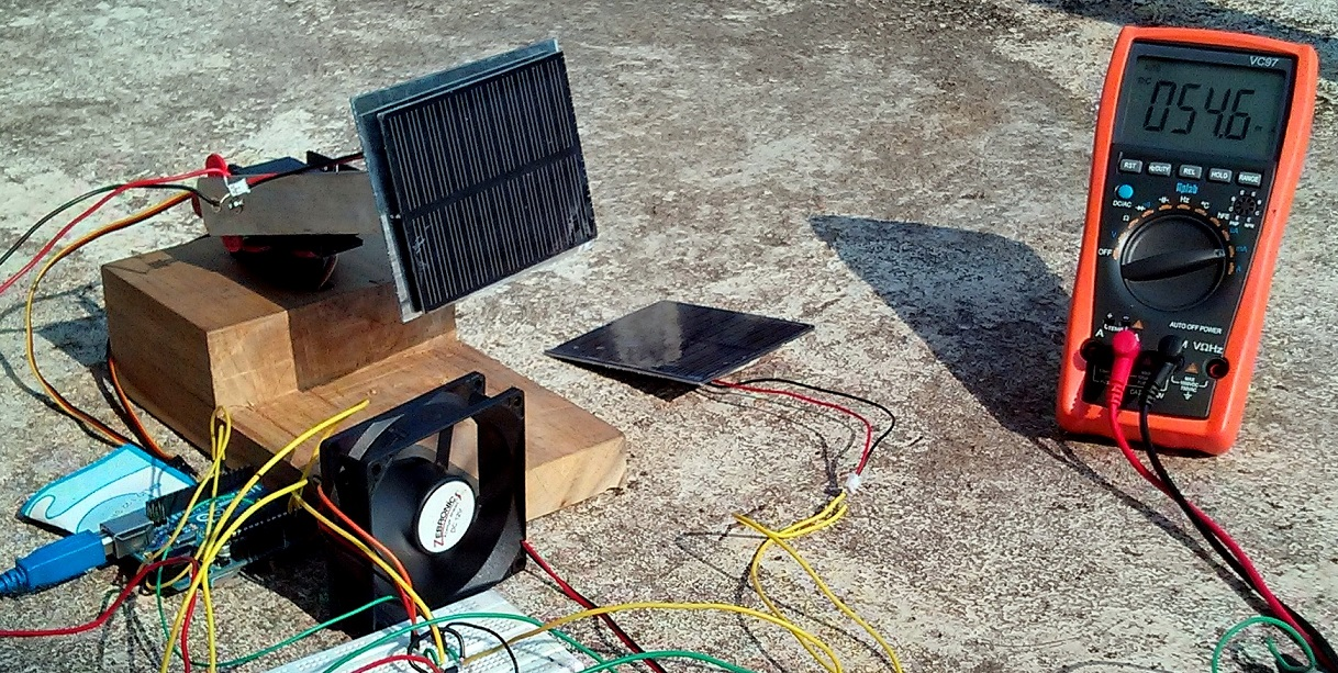 Solar tracking labview
