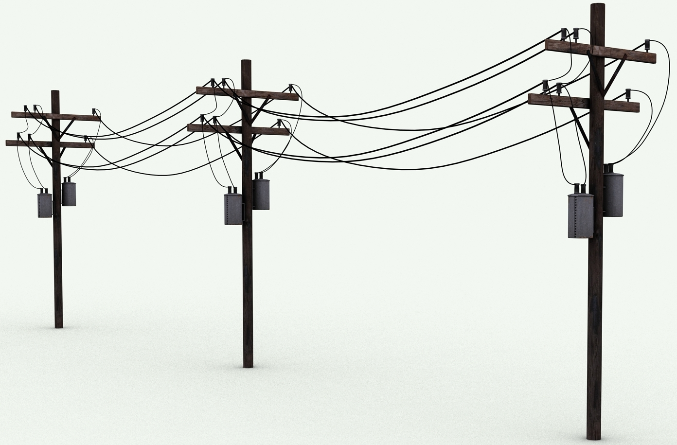 low voltage transmission line