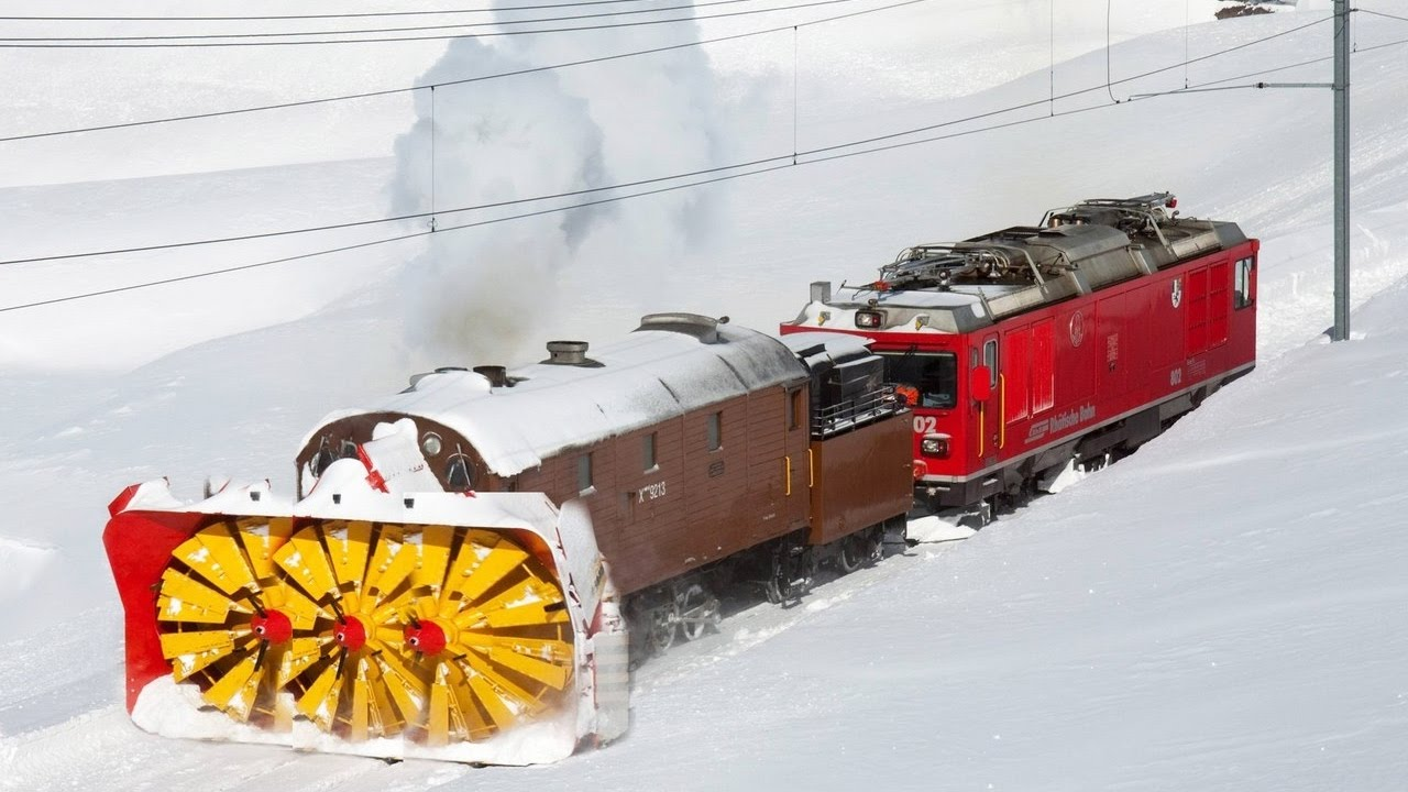 Snow Plow Trains