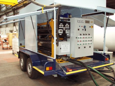 transformer oil filtration 4000LPH