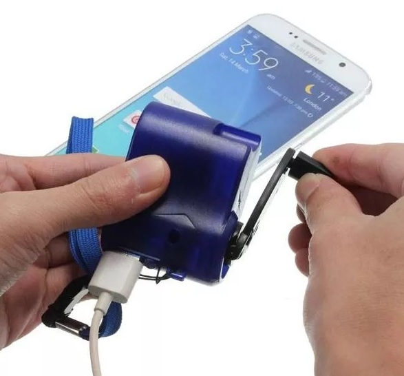 phone charging with dynamo