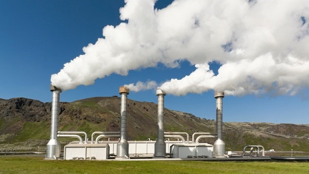 the eat from earth is used to generate geothermal energy