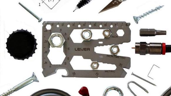 Levergear tool card