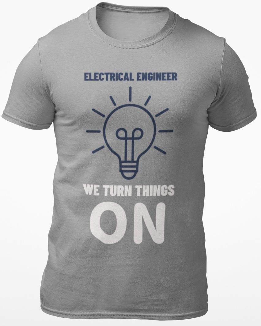 funny electrical tshirt