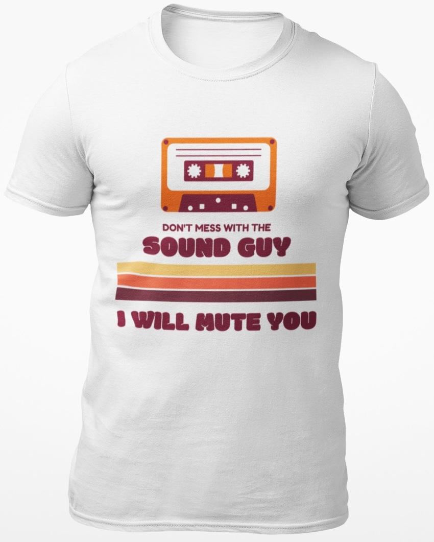 sound guy shirt