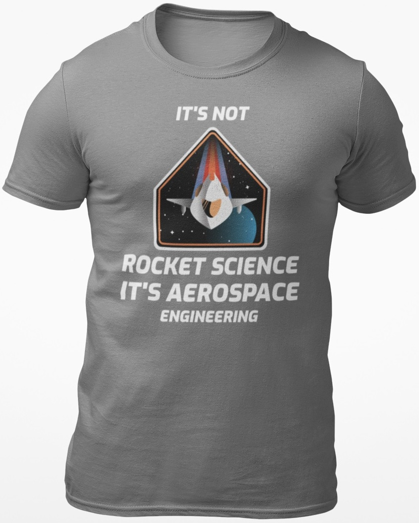 aerospace tshirt
