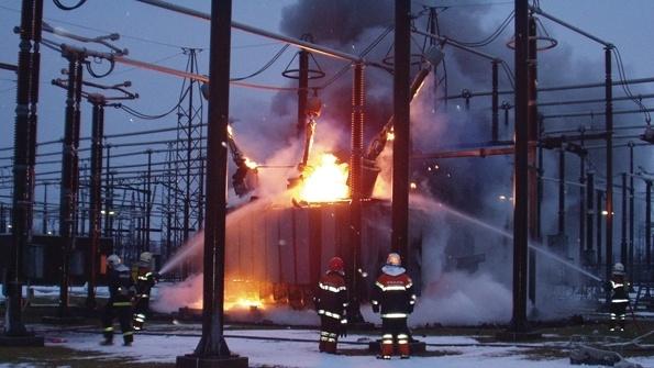 transformer burning