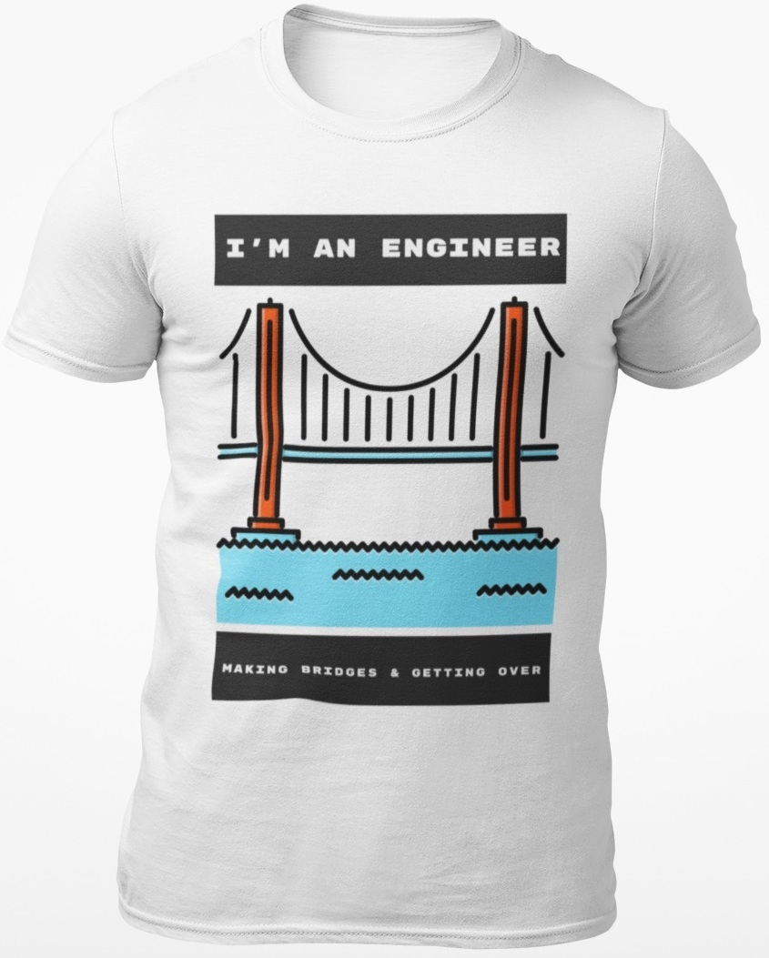 engineer bridge tshirt