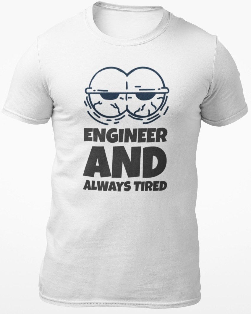 engineer and tired