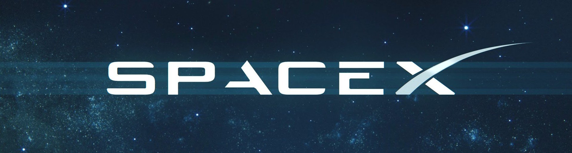 SpaceX banner