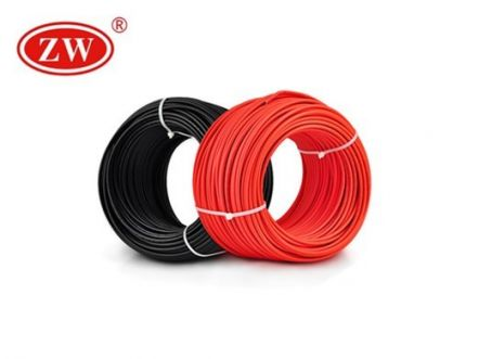 Red and Black PV Cables